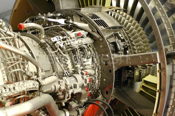 Сток-фото: Jet · двигатель · подробность · большой · науки · власти