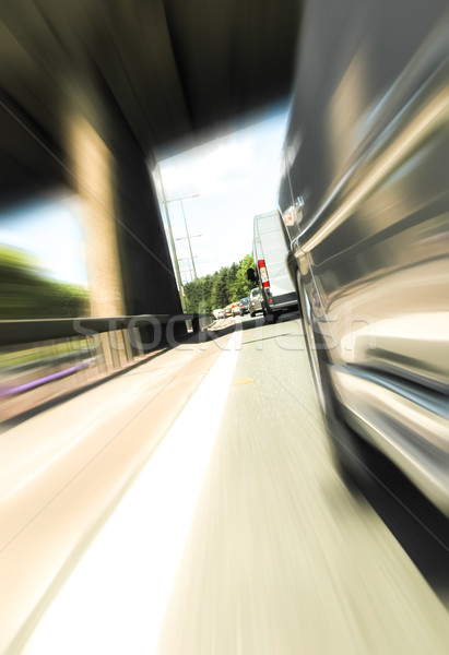 speeding traffic Stock photo © nelsonart
