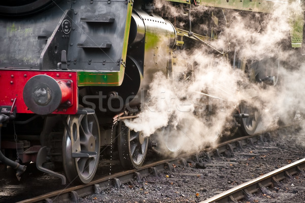 Vapeur train vintage locomotive Voyage Photo stock © nelsonart