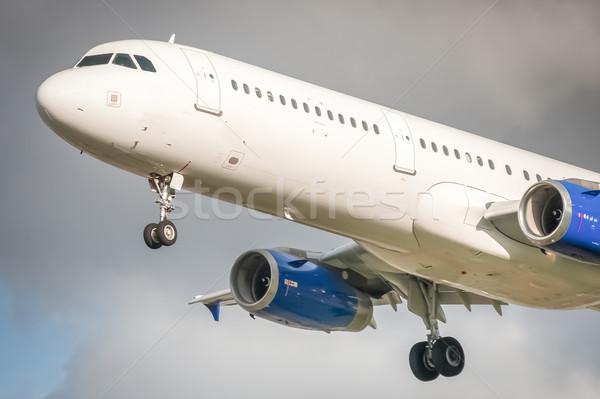 passenger jet Stock photo © nelsonart