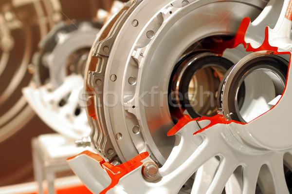 aircraft brakes Stock photo © nelsonart