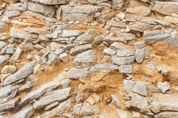 Piedra utilizado romana famoso arquitectura paisaje Foto stock © nelsonart
