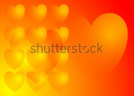 Amor corazones corazón fondo signo rojo Foto stock © nelsonart