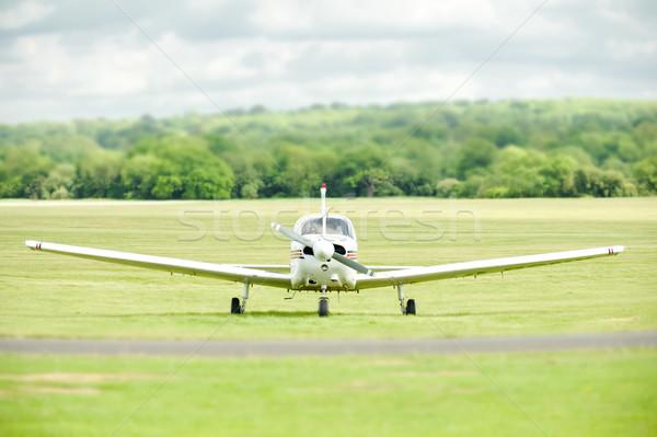 light aircraft Stock photo © nelsonart