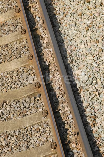railroad track Stock photo © nelsonart
