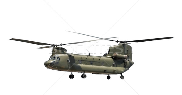 military helicopter Stock photo © nelsonart