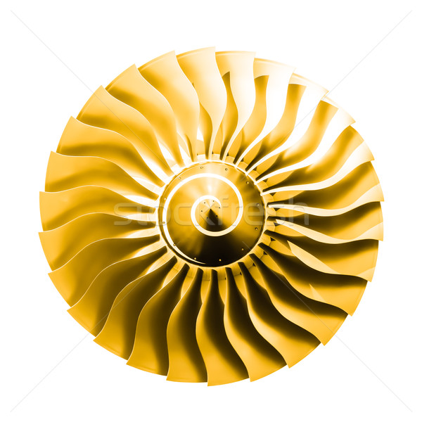 jet engine sunshine Stock photo © nelsonart