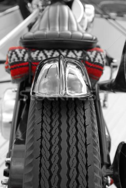 мотоцикл велосипедов свет дороги Сток-фото © nelsonart