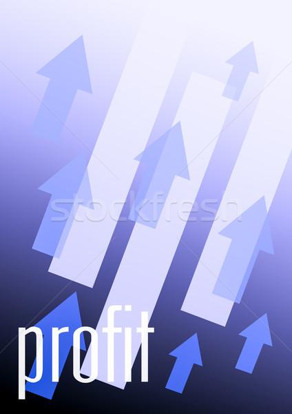 Résultat affaires illustration Finance succès Photo stock © nelsonart