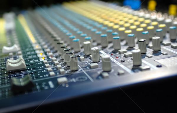 Raso música etapa soar estúdio saldo Foto stock © nelsonart