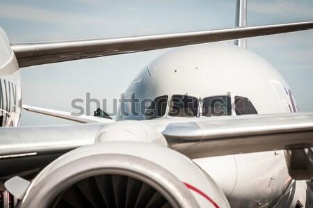 military cargo plane Stock photo © nelsonart