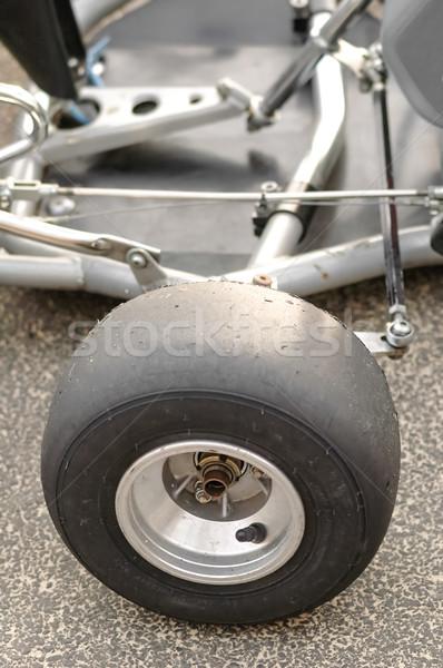 kart wheel Stock photo © nelsonart