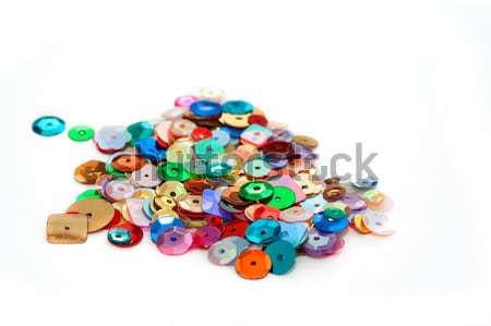 декоративный фоны пластиковых ювелирных макроса украшение Сток-фото © nelsonart