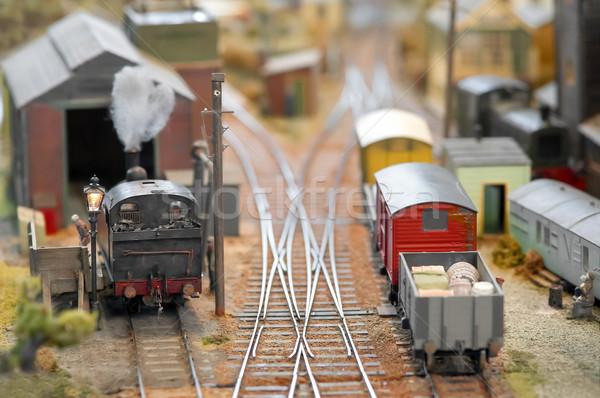 freight yard Stock photo © nelsonart