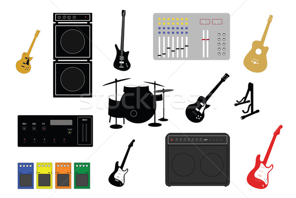 musical instruments Stock photo © nelsonart