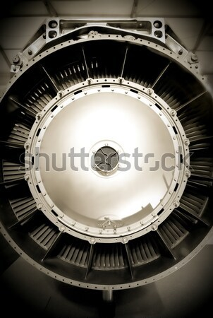 jet engine intake Stock photo © nelsonart