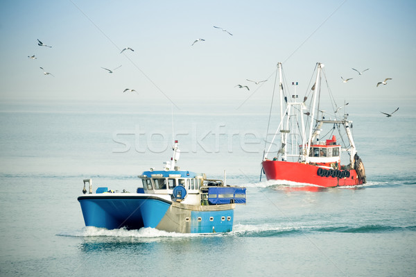 fishing trawlers Stock photo © nelsonart