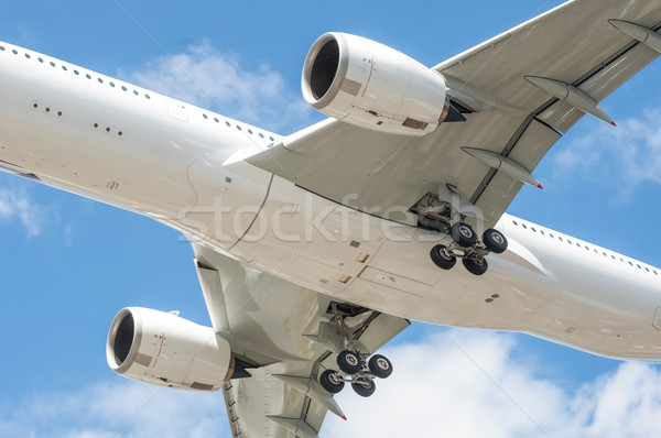aircraft undercarriage Stock photo © nelsonart