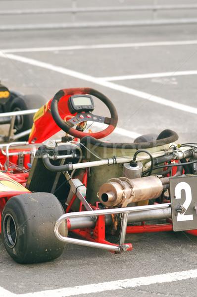 готовый автомобилей спортивных скорости власти двигатель Сток-фото © nelsonart