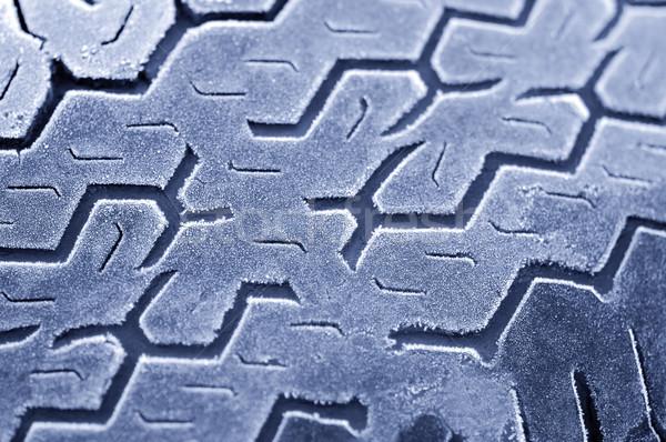 iced tread Stock photo © nelsonart