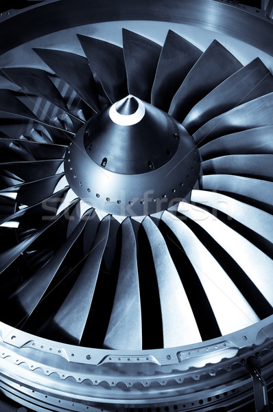 engine blades Stock photo © nelsonart