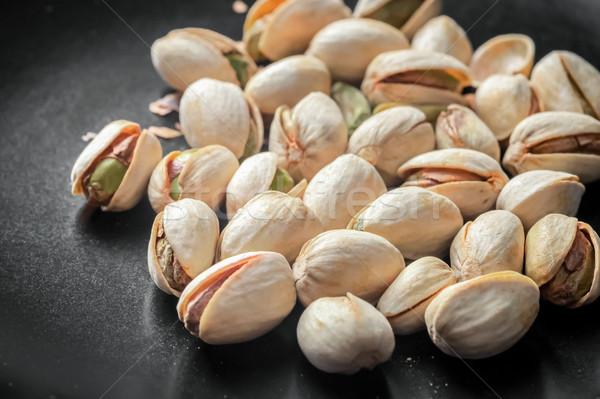 pistachio nuts Stock photo © nelsonart