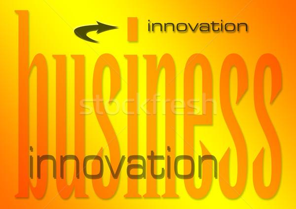 Affaires innovation illustration fond industrie succès Photo stock © nelsonart