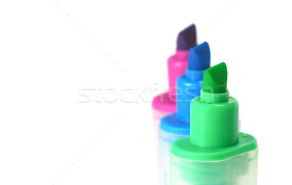 highlighter pens Stock photo © nelsonart