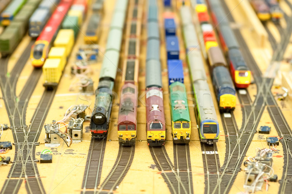 train set Stock photo © nelsonart