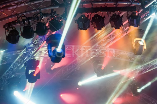 stage spotlights Stock photo © nelsonart