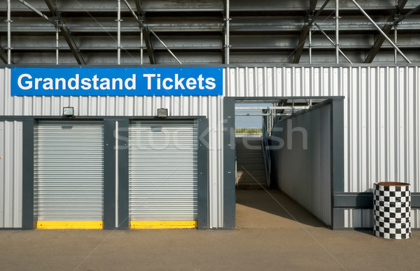 grandstand ticket booth Stock photo © nelsonart