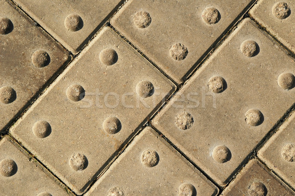 Stock photo: block paving