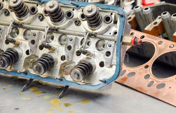 auto engine Stock photo © nelsonart