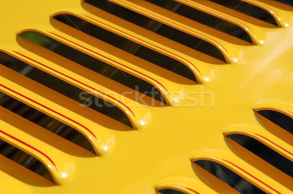 yellow engine grille Stock photo © nelsonart