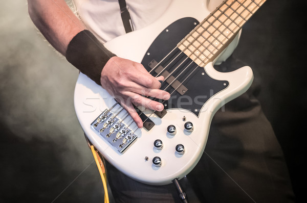 bass guitar Stock photo © nelsonart