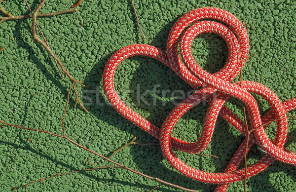 coil of rope Stock photo © nelsonart