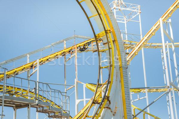 roller coaster ride Stock photo © nelsonart