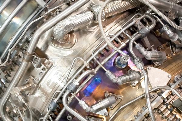 jet engine detail Stock photo © nelsonart