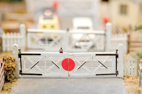 railroad crossing Stock photo © nelsonart