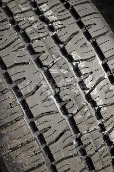 Friss gumi közelkép autógumi autók textúrák Stock fotó © nelsonart