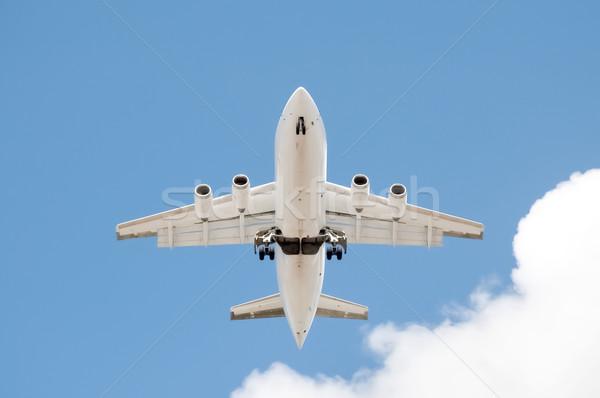 four engined jet Stock photo © nelsonart