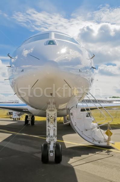 роскошь бизнеса Jet подготовленный самолет плоскости Сток-фото © nelsonart