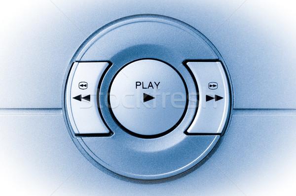 Játék gomb gombok elektronikus berendezés zene Stock fotó © nelsonart