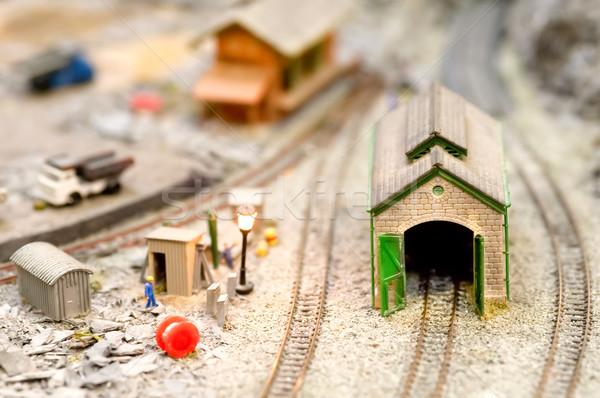 model engine shed Stock photo © nelsonart