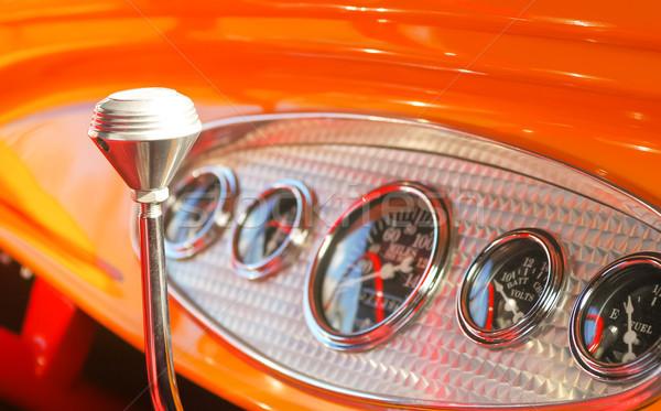 автомобилей приборная панель Focus технологий автомобилей Сток-фото © nelsonart