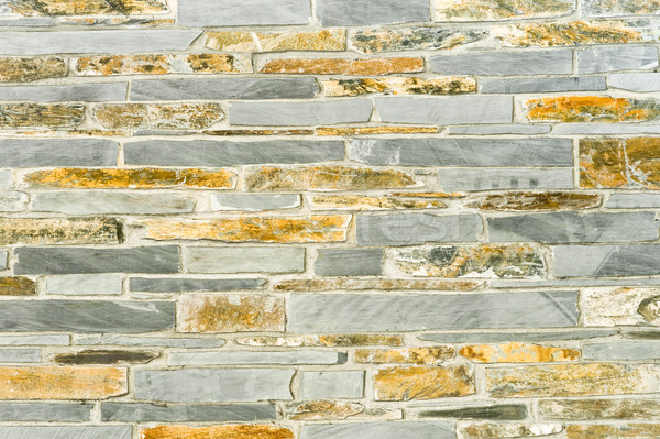 slate and stone wall Stock photo © nelsonart