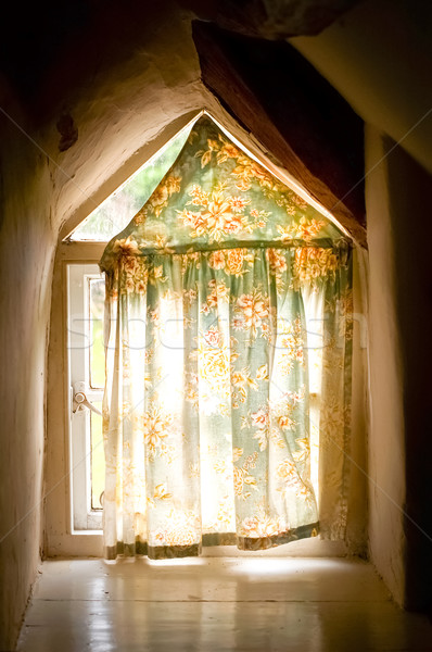 old cottage window Stock photo © nelsonart