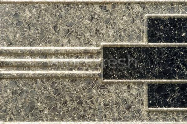 Foto stock: Art · deco · metálico · diseno · primer · plano · resumen · fondo