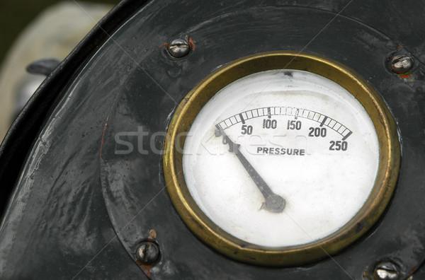 圧力 ゲージ ゼロ ヴィンテージ 作業 技術 ストックフォト © nelsonart