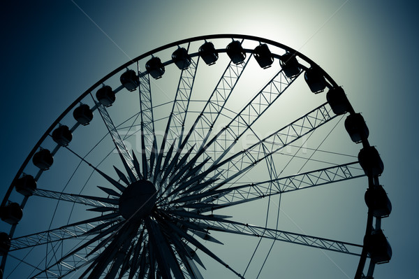 ferris wheel Stock photo © nelsonart